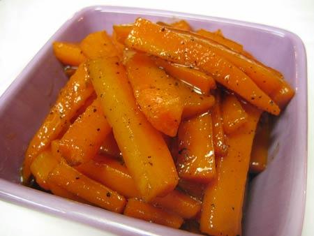 Glazed carrots photo 3