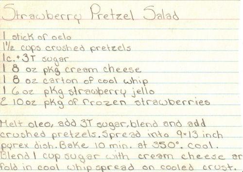 Pretzel salad photo 1