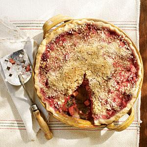 Rhubarb pie photo 2