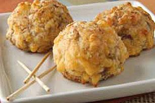 Sausage cheese balls photo 1