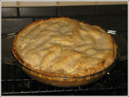 Sugar-free apple pie photo 2