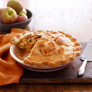 Sugar-free apple pie photo 1