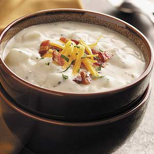Baked potato soup photo 1