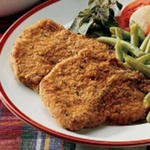 Breaded pork chops photo 1