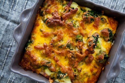 Broccoli cheese casserole photo 2