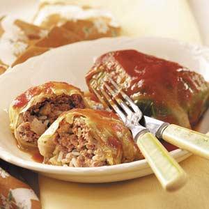 Cabbage rolls photo 2