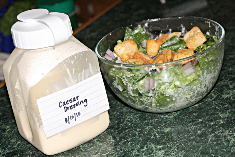 Caesar salad dressing photo 2