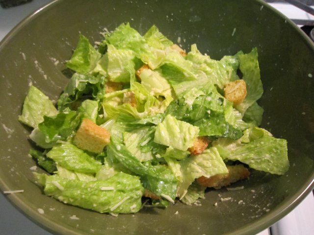 Caesar salad dressing photo 1