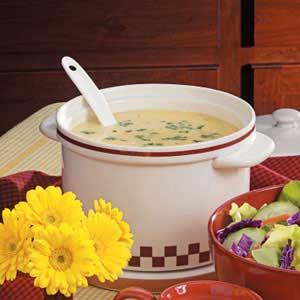 Cheesy potato soup photo 3