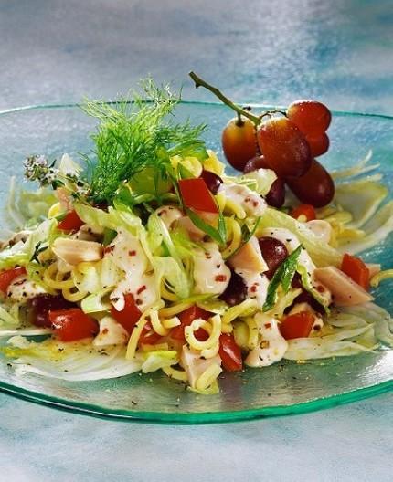 Chicken pasta salad photo 3