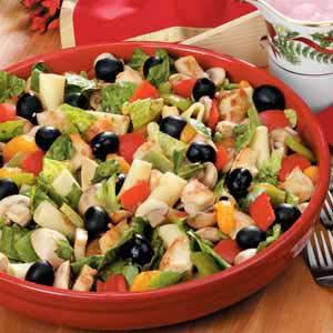 Chicken pasta salad photo 2