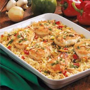 Chicken rice casserole photo 2