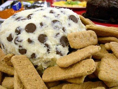 Chocolate chip cheese ball photo 1