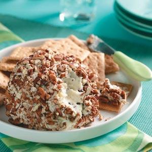Chocolate chip cheese ball photo 2