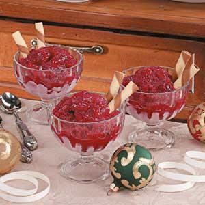 Cranberry ice photo 2