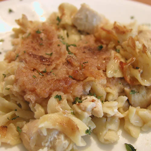 Creamy chicken casserole photo 3