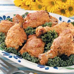 Crispy baked chicken photo 1