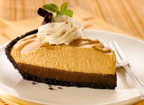 Double layer pumpkin pie photo 2