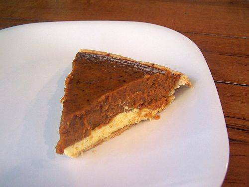 Double layer pumpkin pie photo 3