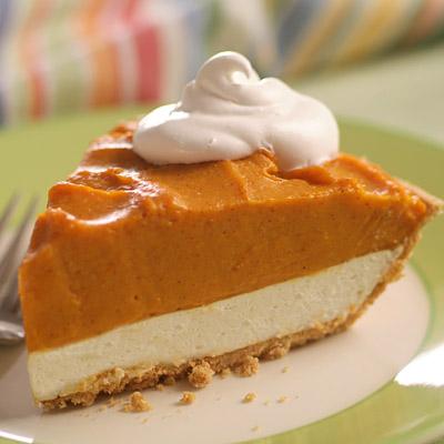 Double layer pumpkin pie photo 1