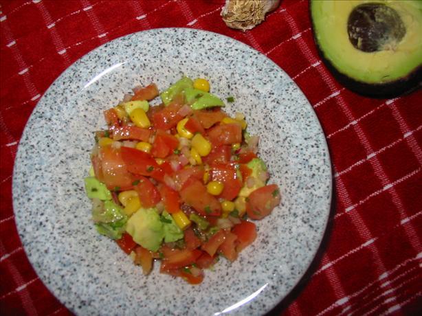 Fresh summer salsa photo 2