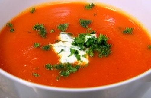 Homemade tomato soup photo 2