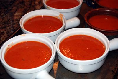 Homemade tomato soup photo 3