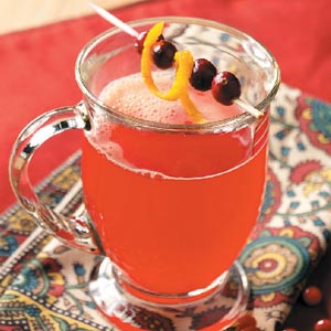 Hot cranberry punch photo 2