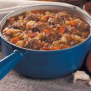 Meatball stew photo 1