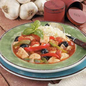Mediterranean chicken stew photo 1