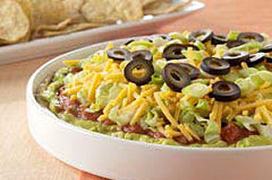 Mexican layered dip photo 1