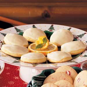 Orange cookies photo 2