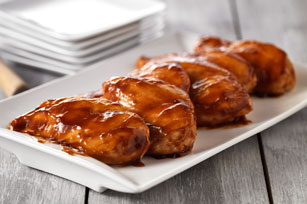 Oven barbecue chicken photo 1