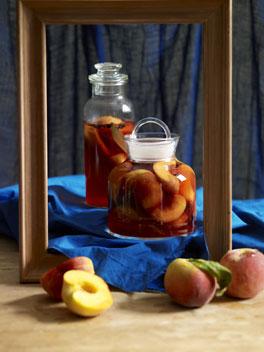 Peach pickles photo 1