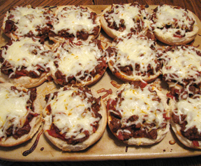 Pizza burgers photo 1
