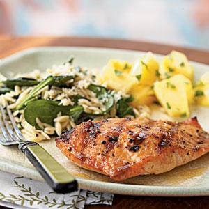 Salmon dinner photo 1