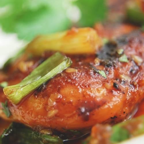 Sesame chicken photo 1
