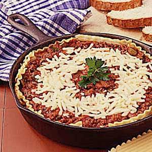 Skillet lasagna photo 2