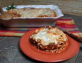 Spaghetti bake photo 1