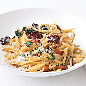 Spaghetti carbonara photo 1
