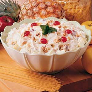 Spaghetti fruit salad photo 1