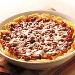 Spaghetti pie photo 3