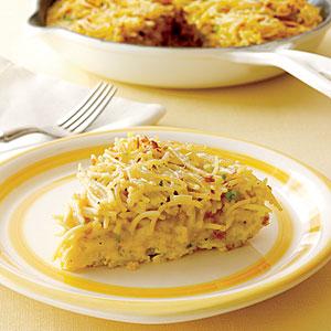 Spaghetti pie photo 1