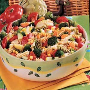 Spaghetti salad photo 2