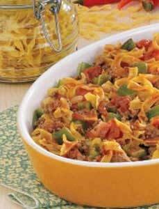 Spanish noodles and ground beef photo 3