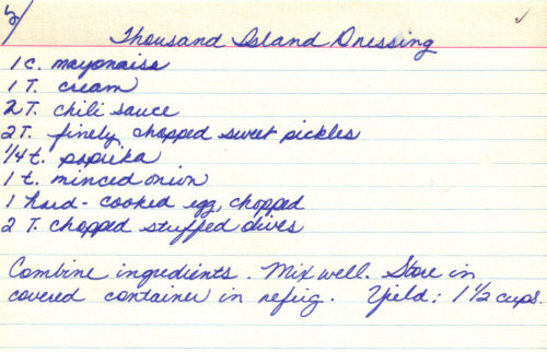 Thousand island dressing photo 1