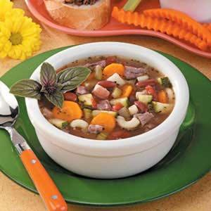 Vegetable beef soup photo 1