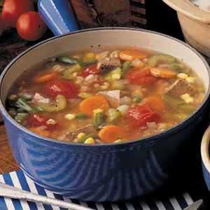 Vegetable beef soup photo 2