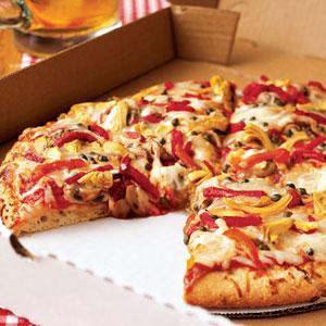 Veggie pizza photo 2