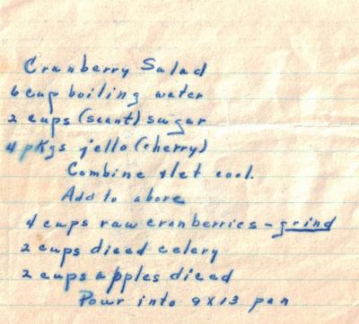 Cranberry salad photo 2